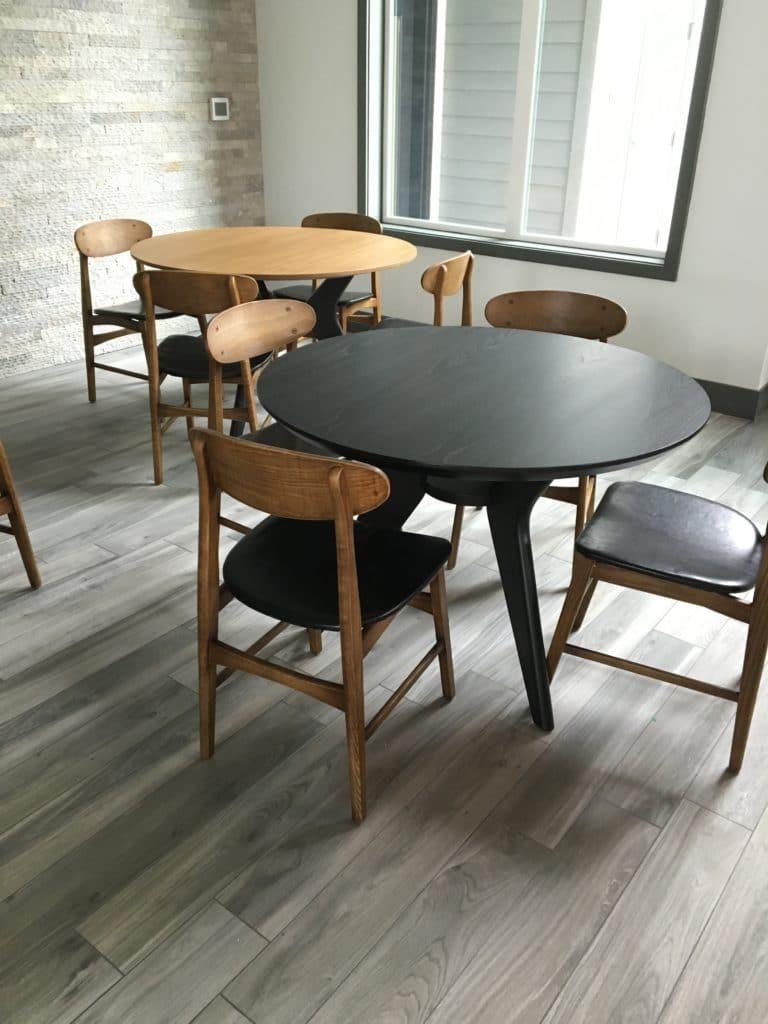 modern furniture seating arrangement