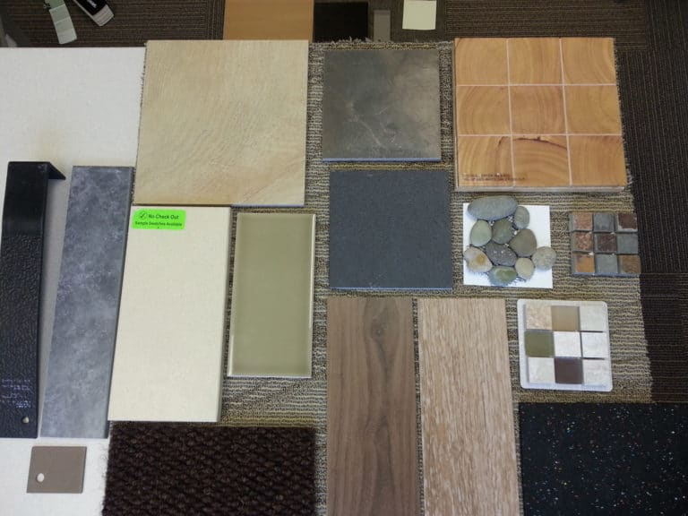 allison smith design process materials for remodel