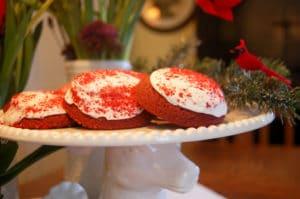 Christmas Cookies on Display