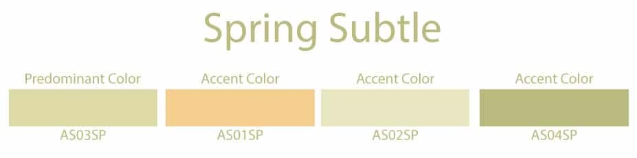 spring subtle color palette quiz results interior design color seasons portland