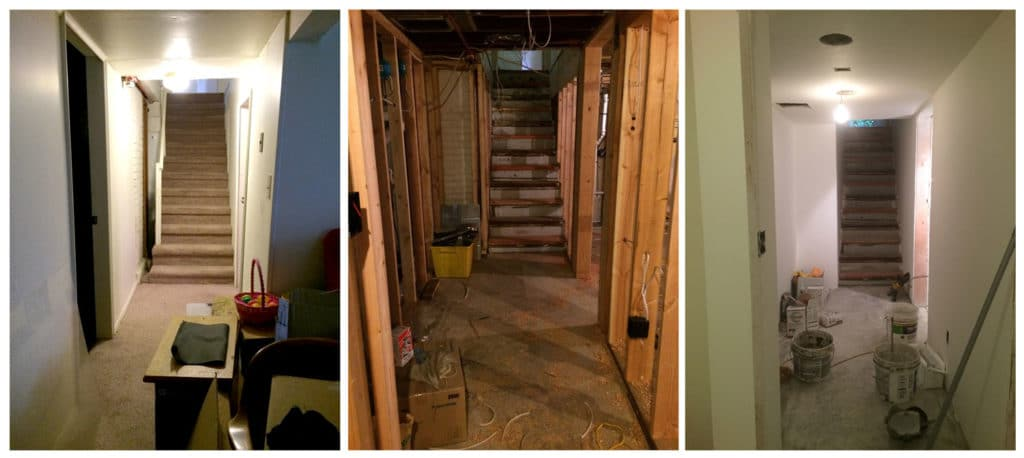 basement remodel and design
