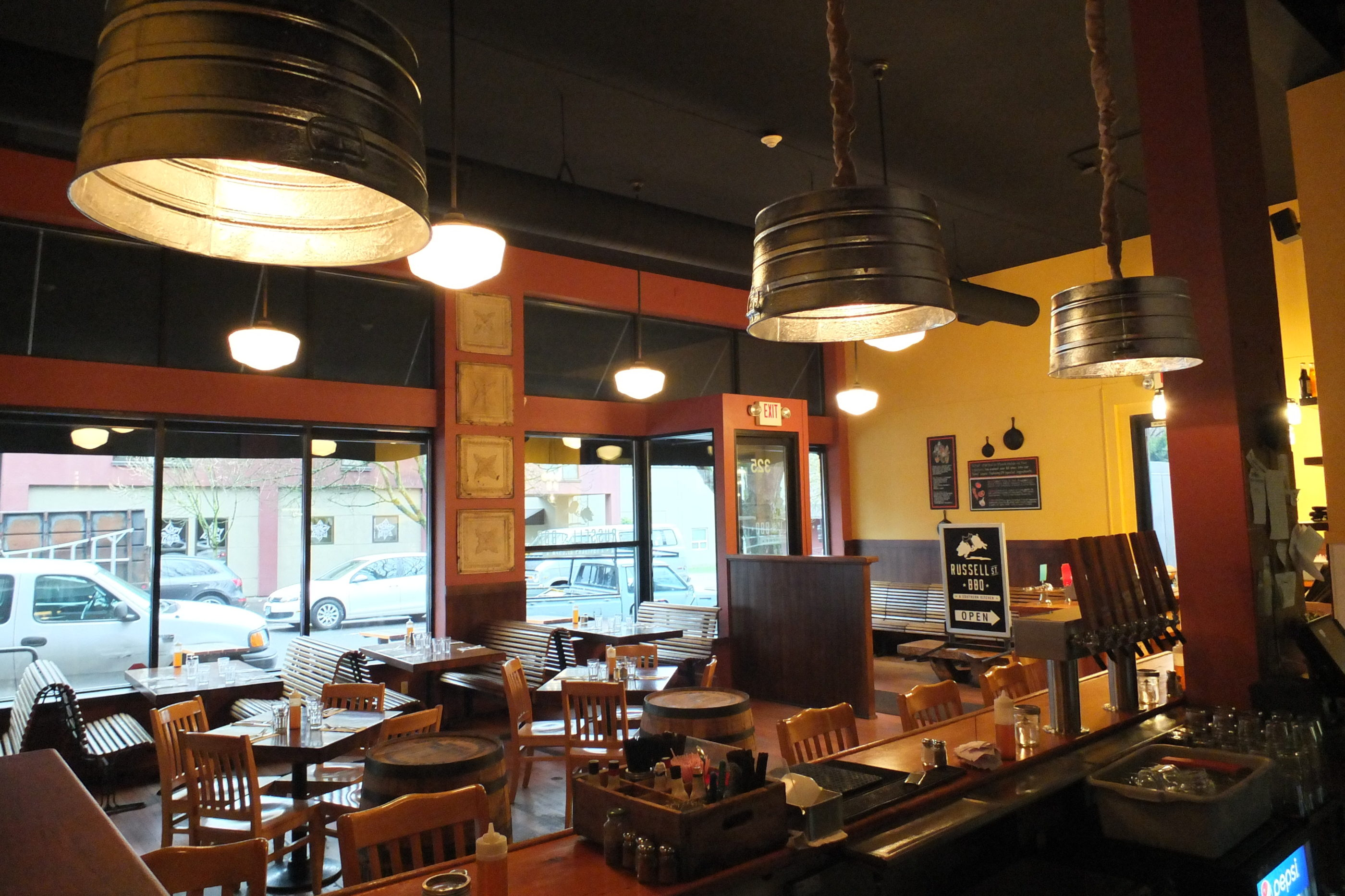 Interior Remodel of Russell St BBQ in Portland