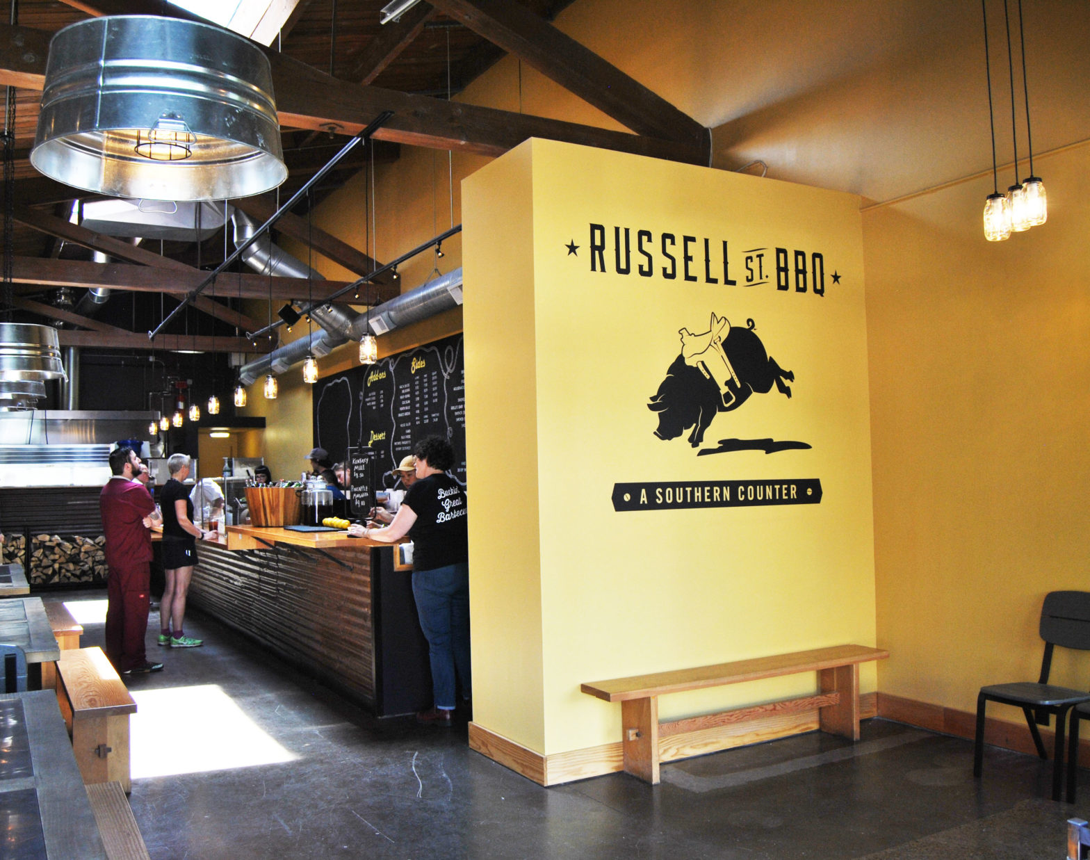 Restaurant Remodel of Russell Street BBQ in Portland Oregon