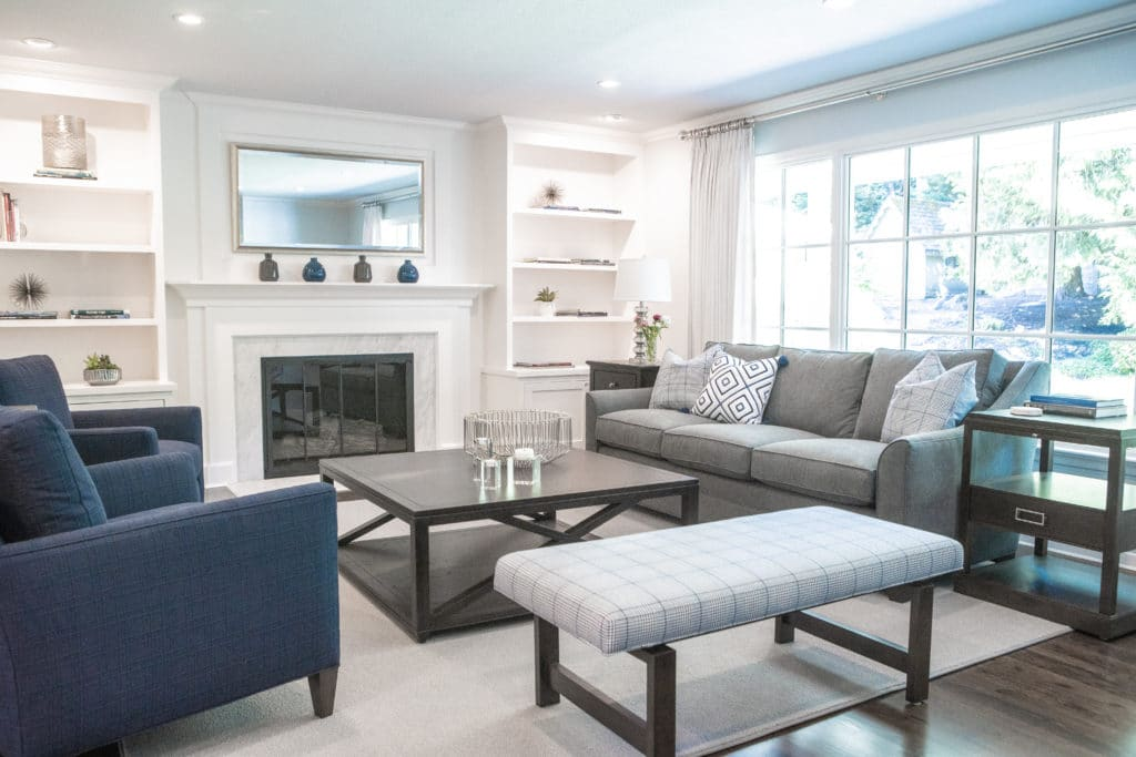 gray sofa high quality custom furniture in portland
