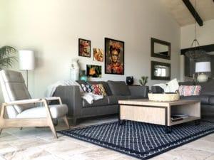 arizona home remodel with custom furniture