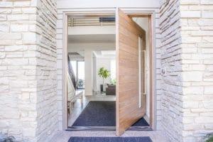 modern pivot entry door design