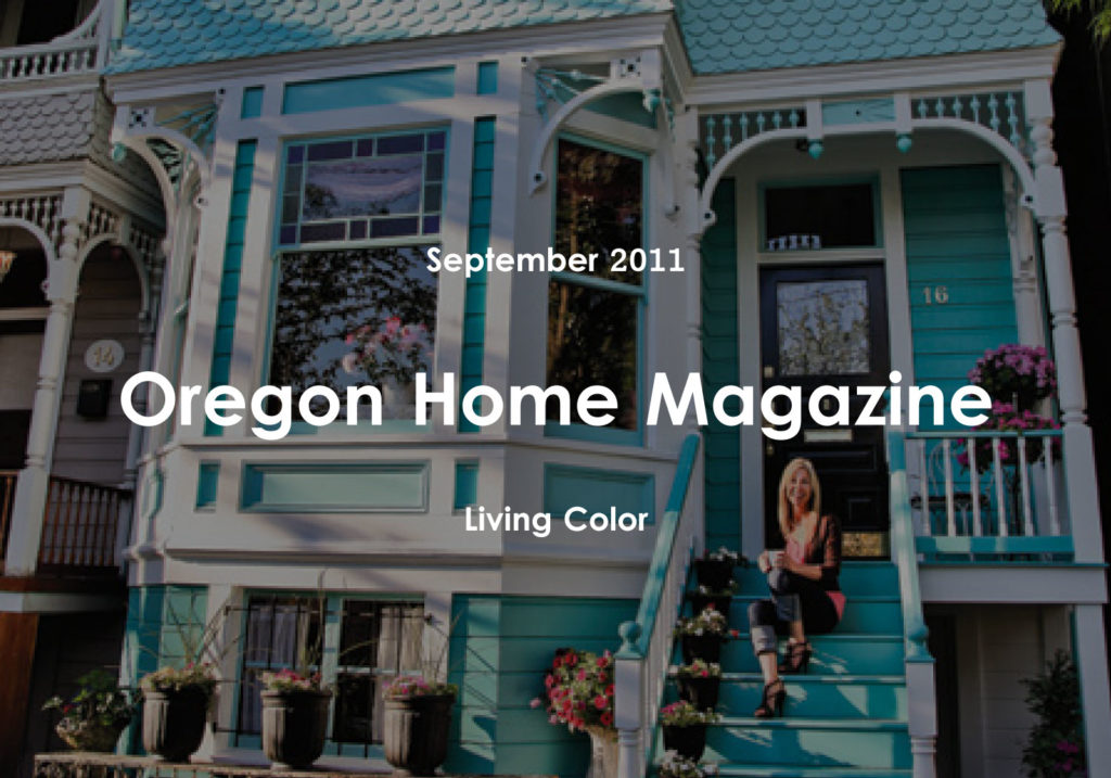 turquoise victorian design studio magazine article