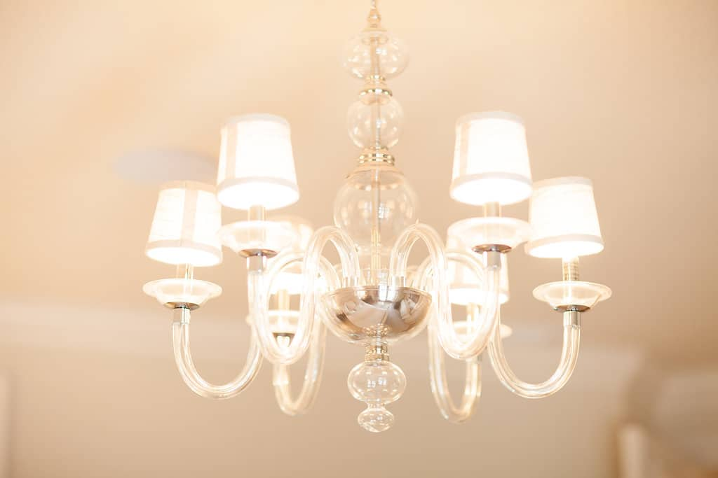 crystal chandelier light fixture