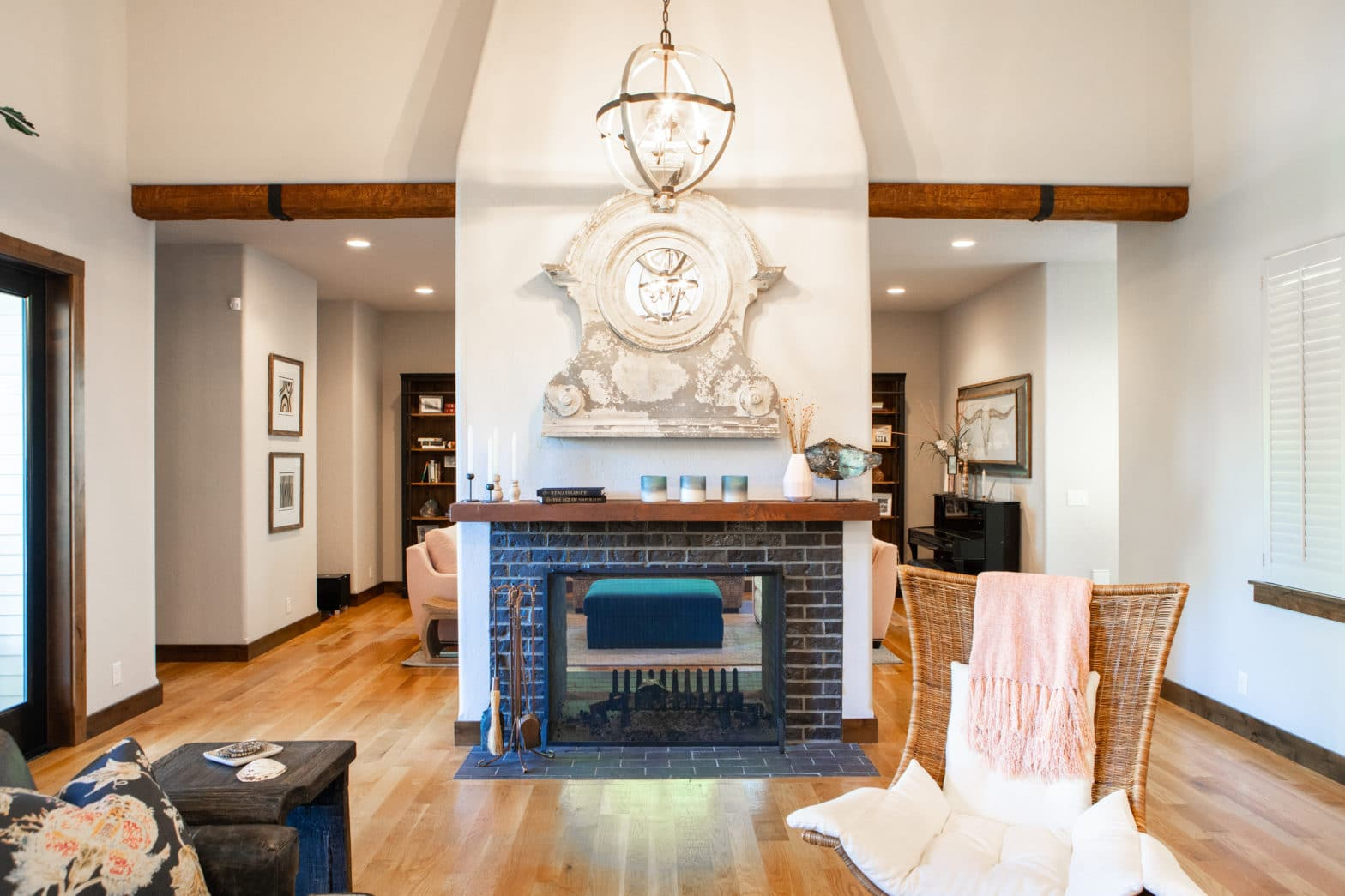 eclectic furniture and decor custom home design