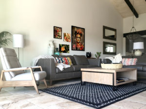 Arizona home remodel with custom furniture