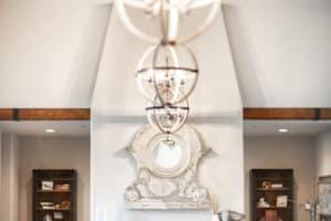 custom lighting for lake oswego home